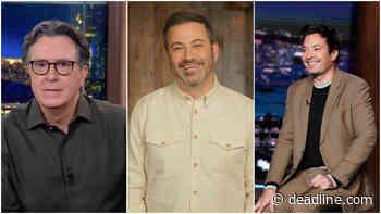 Late-Night Laughs: Inside The Ratings Battle Among Colbert, Kimmel & Fallon - Deadline