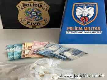 Trio é preso com drogas em Venda Nova do Imigrante - Jornal FATO