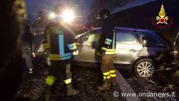 Incidente stradale sul Raccordo Sicignano-Potenza all'altezza di Tito. Intervengono i Vigili del Fuoco - ondanews