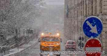 Potenza, arriva la prima neve: temperature rigide e fiocchi bianchi - La Gazzetta del Mezzogiorno