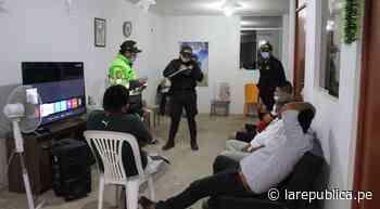 Lambayeque: personas incumplieron medidas sanitarias en Jayanca LRND - LaRepública.pe