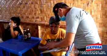 Chiclayo: Intervienen a ciudadanos en bar clandestino de Jayanca - exitosanoticias