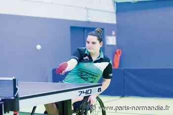 À Bois-Guillaume, la pongiste Alexandra Saint-Pierre vise les Jeux paralympiques de 2024 - Paris-Normandie