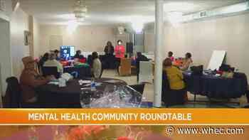 Local advocates hold roundtable discussion on mental health