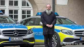 Projekt gegen Antisemitismus: Rabbiner klären Polizisten über Judentum auf