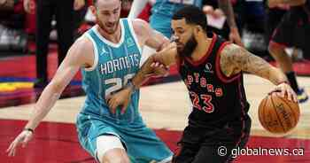 Toronto Raptors use late free throws for 116-113 win over Hornets