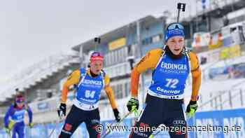Biathlon JETZT im Live-Ticker: Preuß auf Siegkurs! Drama und Sturz auf Schlussrunde