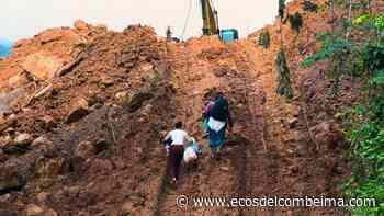 Continúan trabajos para habilitar el paso entre la vía Dolores – Prado - Ecos del Combeima
