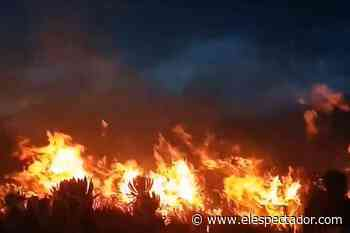 Páramo de Cumbal (Nariño) está en llamas - El Espectador