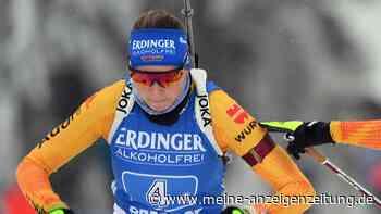 Biathlon in Oberhof: Preuß läuft nach starker Vorstellung knapp am Sieg vorbei