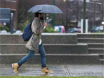 Vancouver weather: Rain, wind and cloud to ease into the week
