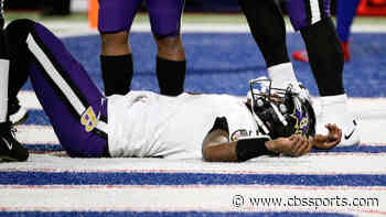 Bills fans donate to Lamar Jackson's favorite charity following Ravens' quarterback's in-game concussion