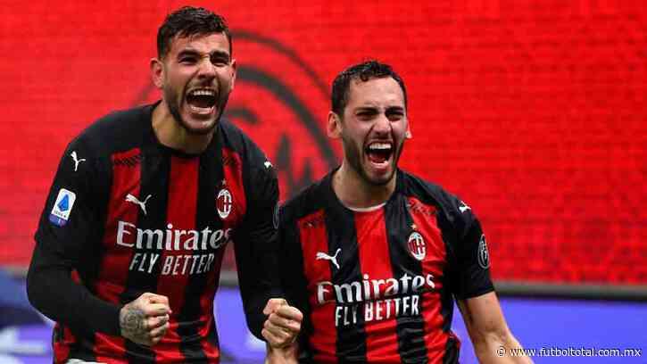 Milan pierde a Theo Hernández y Calhanoglu por Covid-19