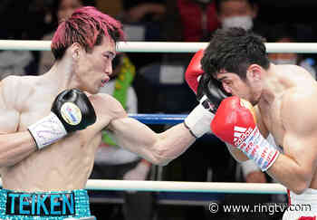 Photos: Ryota Toyoshima outpoints Riku Nagahama to win OPBF welterweight belt
