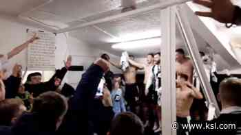 Have You Seen This? British soccer team celebrates big win with Adele - KSL.com