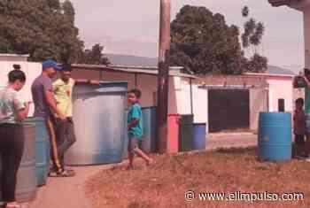 ¡Con tanques vacíos! Habitantes de Bruzual, en Yaracuy, protestaron por escasez de agua - El Impulso
