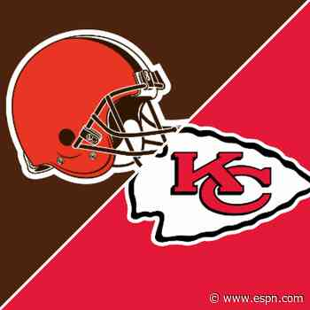 Follow live: Browns look to keep playoff magic alive vs. top-seeded Chiefs