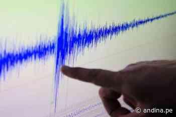 Cañete: un sismo de magnitud de 4.3 en Chilca ocurrió a las 18:51 horas - Agencia Andina