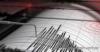 Lima: Sismo de magnitud 4.3 se sintió en Chilca - América Televisión