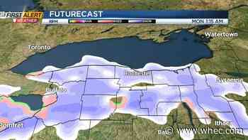 First Alert Weather: Light snow in Rochester, heavier snow off of Lake Erie