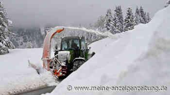 Amtliche Unwetterwarnung für Bayern! Süden versinkt im Schnee - dann folgt Wetter-Wende