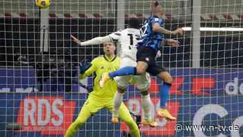 Auch Ronald kann nichts retten: Juventus erlebt Schlappe bei Inter