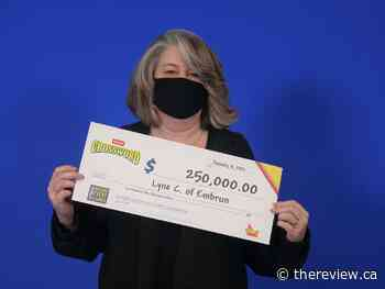 Embrun resident wins $250000 with Instant Crossword Deluxe - The Review Newspaper