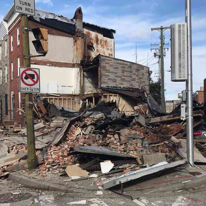 Private Vacant Home Collapses In Pigtown, No Injuries Reported