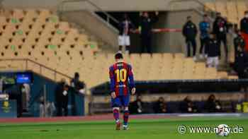 Platzverweis für Messi: Barca versiebt Supercup-Finale