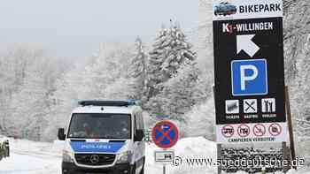 Volle Parkplätze, aber ruhige Lage in Wintersportgebieten - Süddeutsche Zeitung