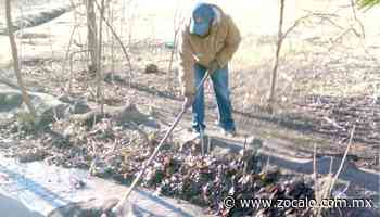 Limpieza en acequias realizan en Zaragoza [Coahuila] - 15/01/2021 - Periódico Zócalo