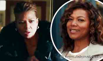 Queen Latifah is seen in the promotional trailer for The Equalizer which debuts after the Super Bowl