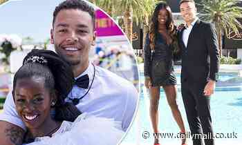 Love Island's Justine Ndiba and Caleb Corprew call it quits three months after their big win