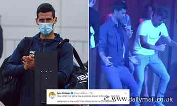 Novak Djokovic roasted after making list of demands for quarantined Australian Open tennis players