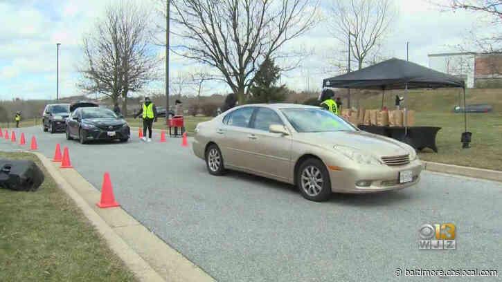 Owings Mills Food Pantry Offers Drive-Thru During Pandemic