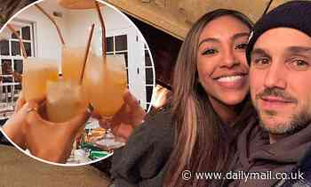 Tayshia Adams shares pics from road trip with Zac Clark as they celebrate his 37th birthday