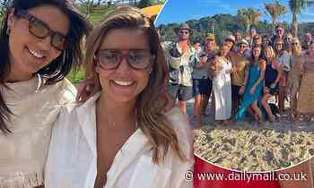 Inside Lauren Phillips' star-studded 34th birthday bash with Hemsworth clan in Byron Bay