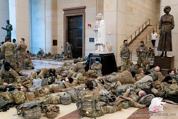 National Guard Sleeping In The Capitol An Echo Of Civil War