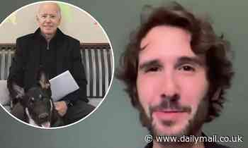Josh Groban performs in 'Indoguration Ceremony' to honor President-elect Joe Biden's dog Major