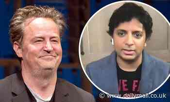 M. Night Shyamalan confirms Matthew Perry's 2016 story of partying with the wrong Indian man