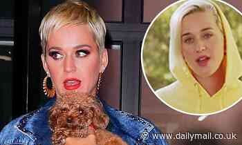 Katy Perry says she and her dog Nugget are nearly ready to go vegan and ready 'to be open to better'