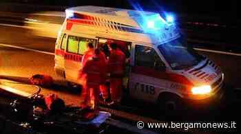 Auto contro moto, un ferito grave a Trescore Balneario - Bergamo News - BergamoNews.it