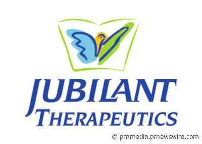 Jubilant Therapeutics annonce une collaboration de recherche avec l'Institut Wistar pour évaluer l'activité des nouveaux inhibiteurs de PAD4 afin de réduire la gravité clinique de la COVID-19