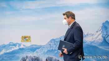 FFP2-Masken und Ausgangssperre: Wird Bayern zur Blaupause für den Bund?