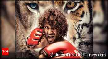 'Liger': First look poster of Vijay starrer