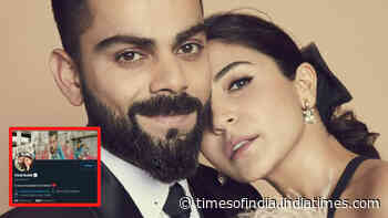 'Proud husband and father' Virat Kohli changes Twitter bio after welcoming baby girl with wife Anushka Sharma