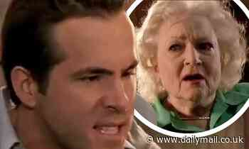 Ryan Reynolds feuds with 'seething demon' Betty White in behind-the-scenes clip from The Proposal