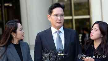Bestechung und Veruntreuung: Samsungs Vizepräsident muss erneut in Haft