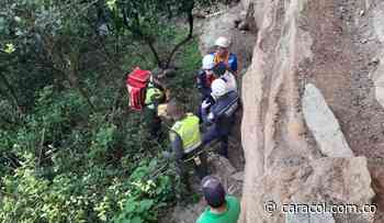 Hombre cayó a un abismo en Betulia mientras iba para una cascada - Caracol Radio