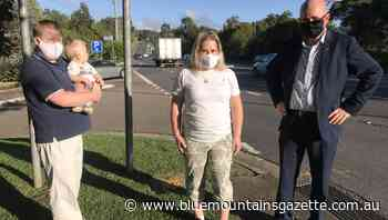 Push for pedestrian crossing on View Street in Blaxland - Blue Mountains Gazette